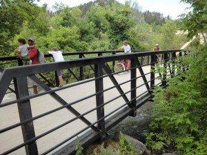 Bicycle and Ped Footbridge