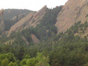 Boulder Flatiron Mountains