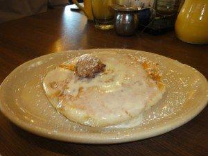 Secret pancake (not on the menu) at Snooze