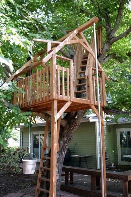 treecraft tree house