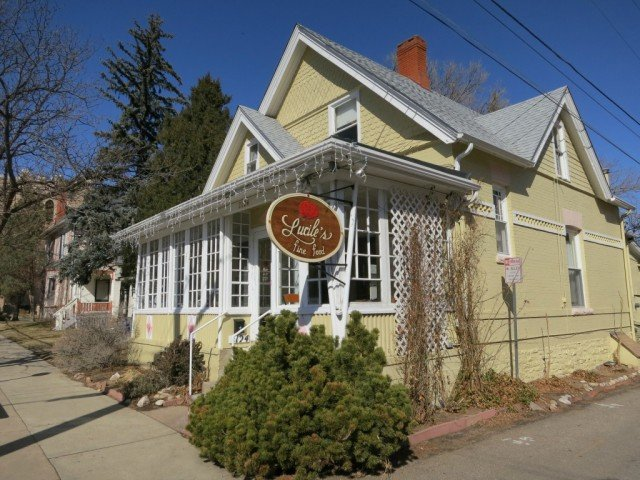 a little turn of the century home is now the original location of Lucile's in Boulder Colorado