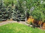 Boulder Colorado beautiful backyard