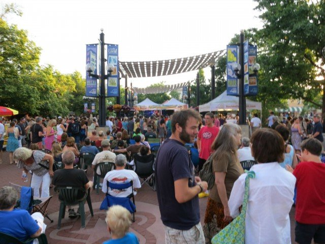 Bands on the Bricks, Boulder crowd out for good time June 19th 2013