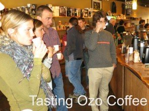 avid coffee drinkers pictured in Ozo Coffee