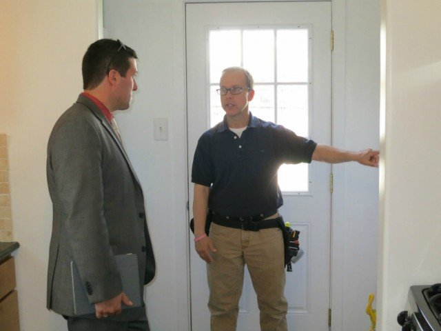 Firefly Home Inspection performing townhouse inspection for a buyer client of bob gordon
