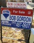 bob gordon remax sign