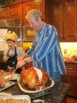 bob gordon carving turkey