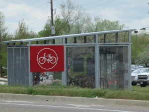 b-cycle station on iris and 28th