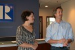 Kirsten & Scott, principal at Rodwin Architecture in Boulder Colo, at BARA