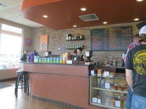 inside tods espresso cafe