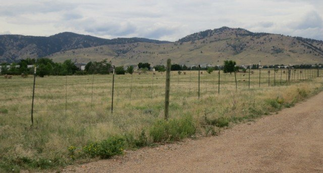 boulder lot with mountain views