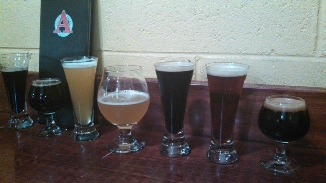 avery, a boulder craft brewery, beer selection.