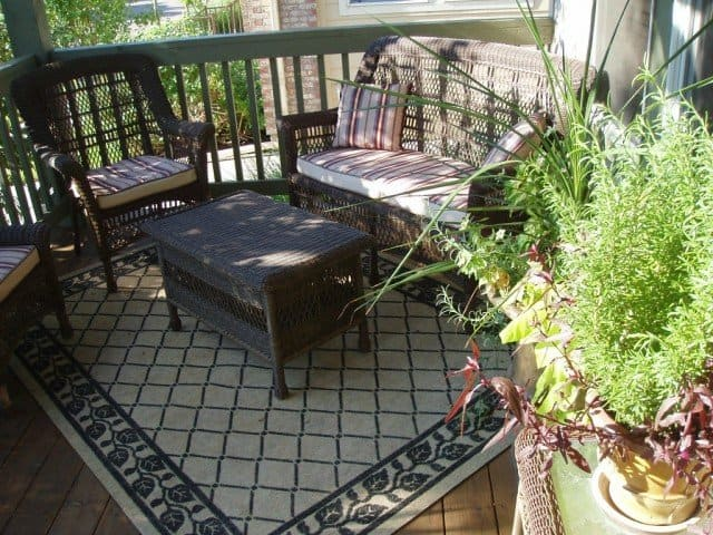 outdoor carpet with furniture on this Boulder Outdoor Patio Deck Space