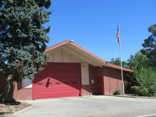 Just outside the neighborhood is one of the Boulder Fire Department stations.