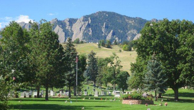 green mountain cemetery mountain view