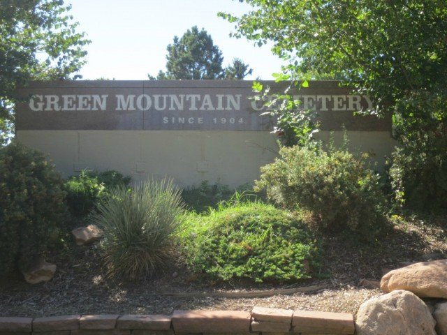 entry to green mountain cemetery
