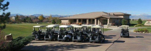 carts at colorado national golf course