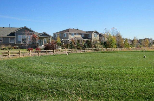 tee boxes at vista ridge subdivision