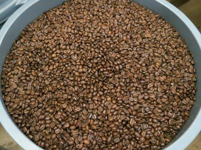 bin of coffee beans epitomizes best pearl street coffee shops