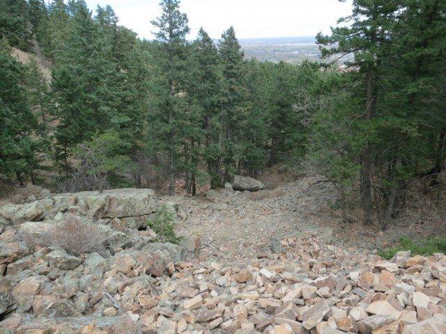 2nd flatiron trail, boulder co
