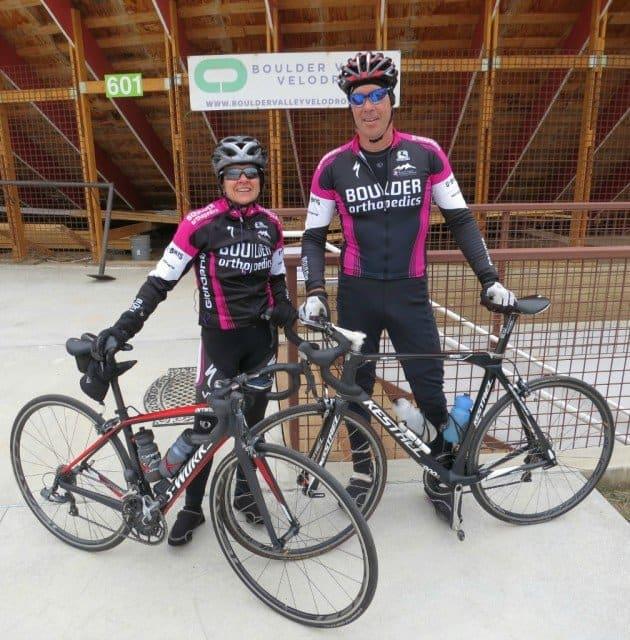 boulder othopedic bouder vedodrome bike team