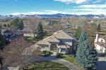 residence at 7355 lupine street arvada with mountain view in background, and beautiful blue skies