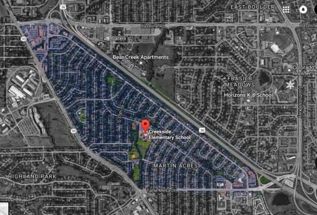 martin acres map