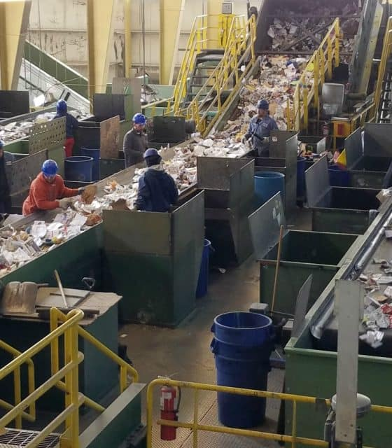 boulder recycling facility