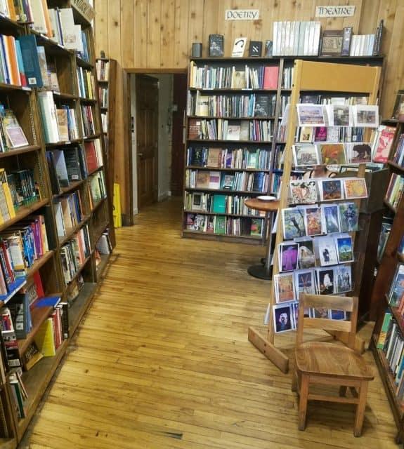 interior trident cafe cappuccinno and bookstore
