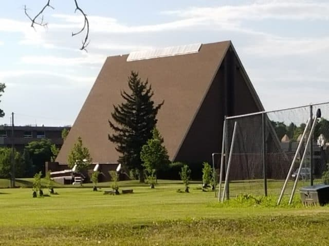 a-frame house designed church in boulder colorado