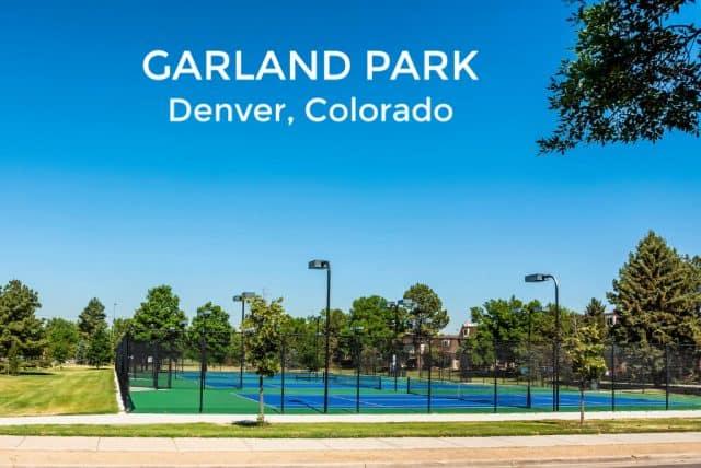garland park denver co tennis courts