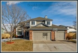 1850 keota lane superior colorado 80027 exterior of home with the words boulder real estate news dot com on photo