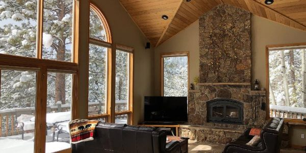 Boulder Log Cabin Home