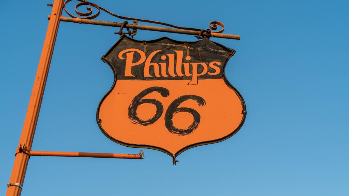 phillips 66 road sign for blog by bob gordon