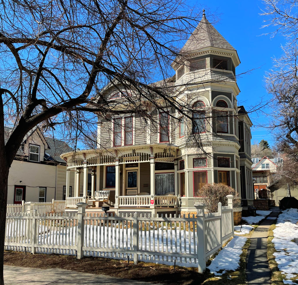mork and mindy house in whittier neighbohrood boulder colorado