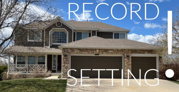 record settting words with house in beackground